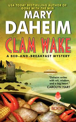 Clam Wake: A Bed-and-Breakfast Mystery (Bed-and-Breakfast Mysteries #29) Cover Image