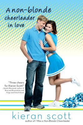 Cover for A Non-Blonde Cheerleader in Love