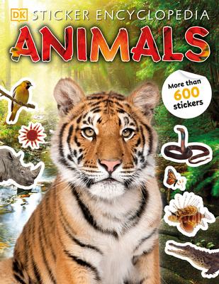 Sticker Encyclopedia Animals (Sticker Encyclopedias) Cover Image