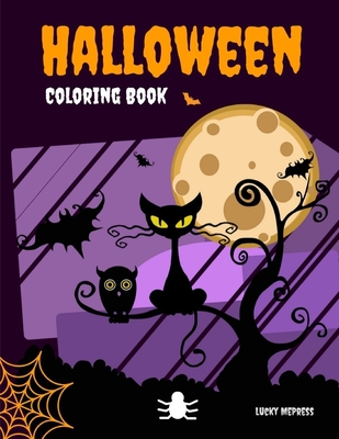 Halloween Coloring Book: The exclusive special occasion book to celebrate funny pictures with horror ghosts Cover Image
