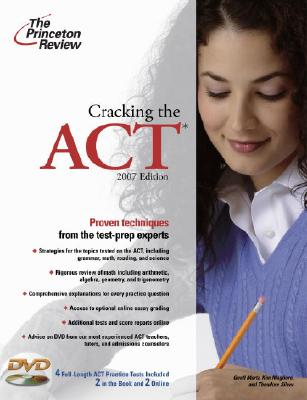 Cracking the ACT with DVD, 2007 Edition Cover Image