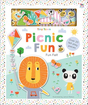 Tiny Town Picnic Fun (Soft Felt Play Books) Cover Image