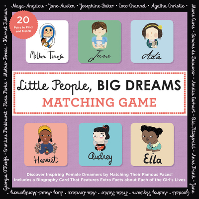 Little People, BIG DREAMS Matching Game: Put Your Brain to the Test with All the Girls of the Little People, BIG DREAMS Series! Cover Image