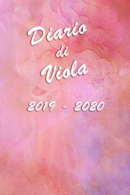 Agenda Scuola 2019 - 2020 - Viola: Mensile - Settimanale - Giornaliera - Settembre 2019 - Agosto 2020 - Obiettivi - Rubrica - Orario Lezioni - Appunti Cover Image