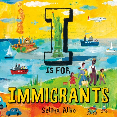 I Is for Immigrants Cover Image