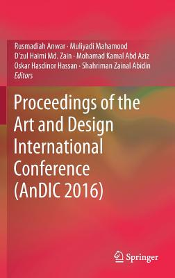 Proceedings of the Art and Design International Conference (Andic 2016) Cover Image