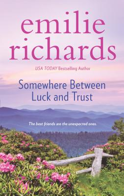 Somewhere Between Luck and Trust (Goddesses Anonymous #2) Cover Image