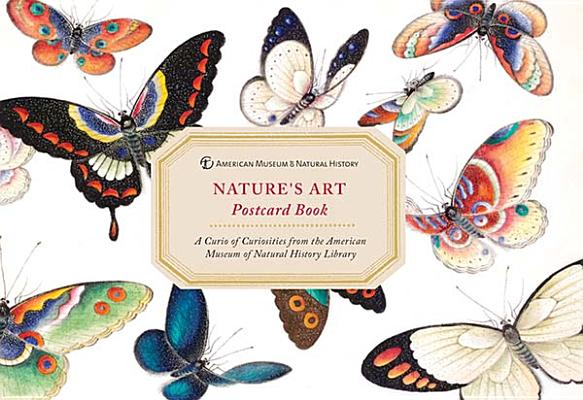 American Museum of Natural History Nature's Art Postcard Book Cover Image