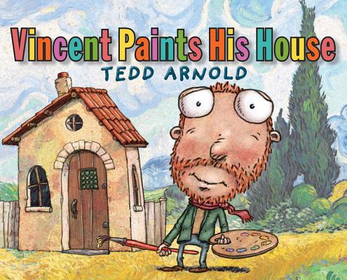 Cover for Vincent Paints His House