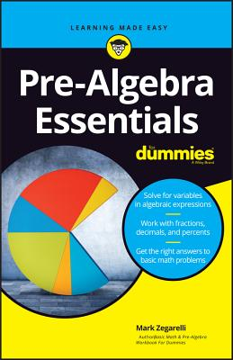 Pre-Algebra Essentials for Dummies Cover Image