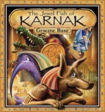 The Jewel Fish of Karnak [With Decoder and Map] Cover
