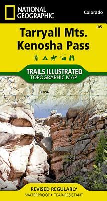 Tarryall Mountains, Kenosha Pass (National Geographic Maps: Trails Illustrated #105) Cover Image