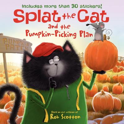 Splat the Cat and the Pumpkin-Picking Plan Cover Image