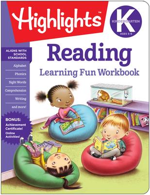 Kindergarten Reading (Highlights Learning Fun Workbooks) Cover Image