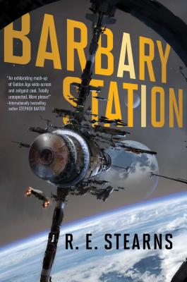 Cover for Barbary Station (Shieldrunner Pirates #1)
