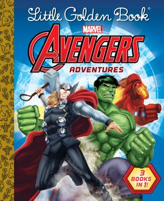 Avengers Adventures 3 Books in 1!
