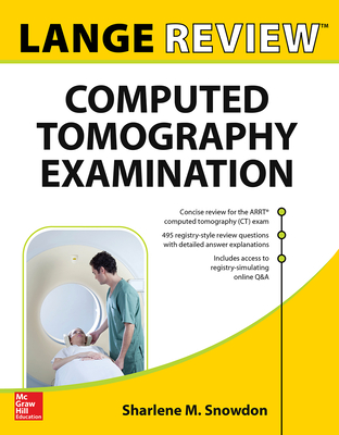 Lange Review: Computed Tomography Examination Cover Image