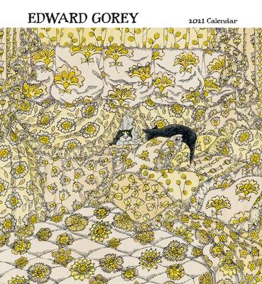 Edward Gorey 2021 Wall Calendar Cover Image