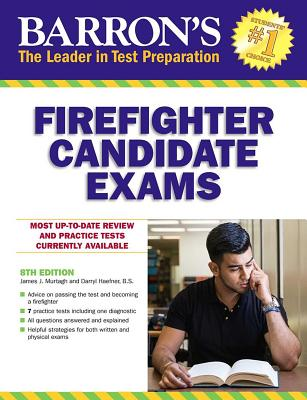 Firefighter Candidate Exams (Barron's Test Prep) Cover Image