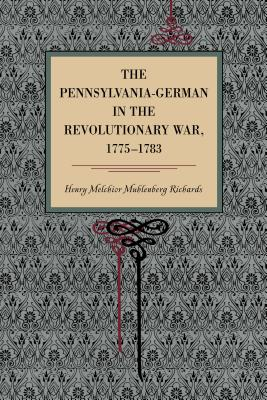The Pennsylvania-German in the Revolutionary War, 1775-1783 Cover