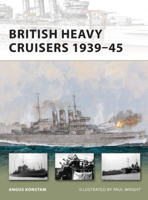 British Heavy Cruisers 1939-45 Cover