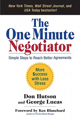 The One Minute Negotiator Cover