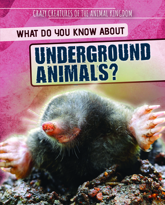 What Do You Know about Underground Animals? Cover Image