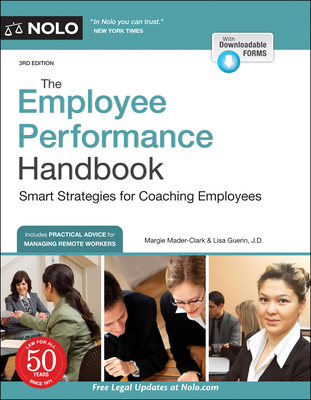 The Employee Performance Handbook: Smart Strategies for Coaching Employees Cover Image