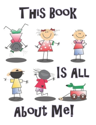 This Book is All About Me: Sketch Book with Prompts, to help Express Emotions for Kids, Parents Learn what Emotions are Revealed Cover Image