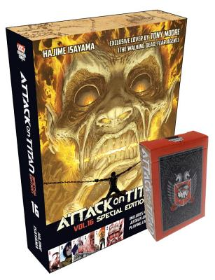 Attack on Titan 16 Manga Special Edition with Playing Cards (Attack on Titan Special Edition #1) Cover Image