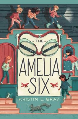 The Amelia Six: An Amelia Earhart Mystery Cover Image