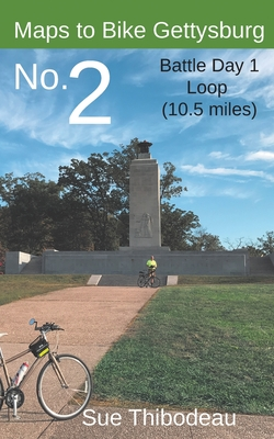 Maps to Bike Gettysburg No. 2: Battle Day 1 Loop Cover Image