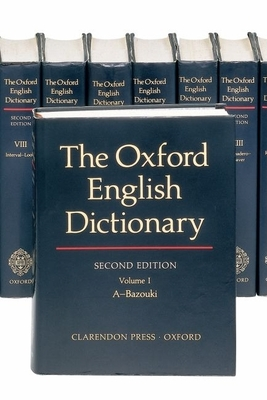 The Oxford English Dictionary: 20 Volume Set (Oxford English Dictionary (20 Vols.)) Cover Image