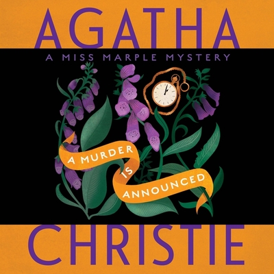 A Murder Is Announced Lib/E: A Miss Marple Mystery Cover Image