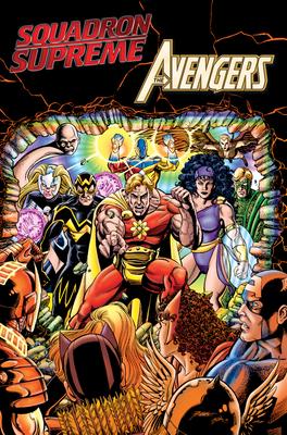 Squadron Supreme vs. Avengers Cover Image