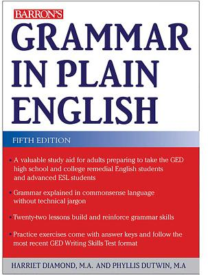 Grammar in Plain English Cover Image