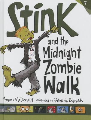 Stink and the Midnight Zombie Walk (Stink (Numbered Pb) #7) Cover Image