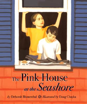 The Pink House at the Seashore Cover