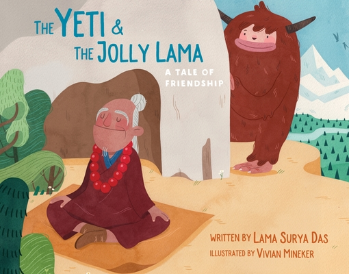 The Yeti and the Jolly Lama: A Tale of Friendship Cover Image