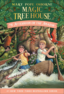 Afternoon on the Amazon (Magic Tree House #6) Cover Image
