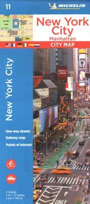 Michelin New York City Manhattan Map 11 (Maps/City (Michelin)) Cover Image
