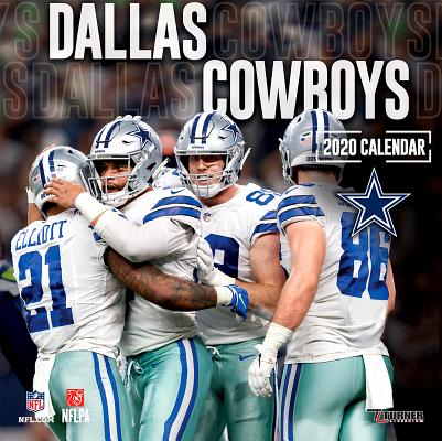 Dallas Cowboys: 2020 12x12 Team Wall Calendar Cover Image
