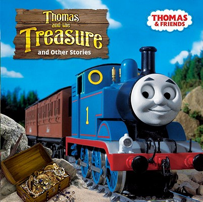 Thomas and the Treasure (Thomas & Friends) (Thomas & Friends (8x8)) Cover Image
