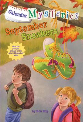 Calendar Mysteries #9: September Sneakers Cover Image