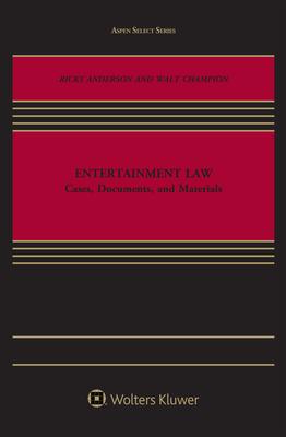 Entertainment Law (Aspen Select) Cover Image