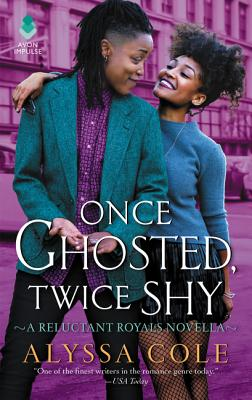 Once Ghosted, Twice Shy: A Reluctant Royals Novella Cover Image