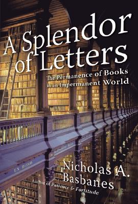A Splendor of Letters Cover