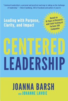 Centered Leadership Cover