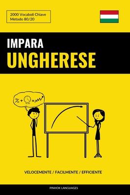 Impara l'Ungherese - Velocemente / Facilmente / Efficiente: 2000 Vocaboli Chiave Cover Image