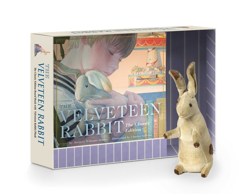 The Velveteen Rabbit Plush Gift Set: The Classic Edition Board Book + Plush Stuffed Animal Toy Rabbit Gift Set Cover Image
